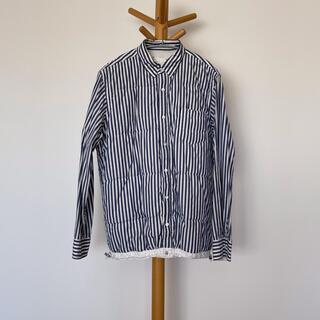 sacai - サカイ ストライプダウンシャツ