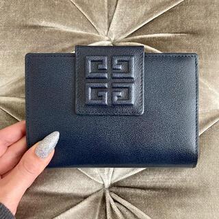 GIVENCHY - 美品✨ ジバンシー 💙 ヴィンテージ ロゴ がま口 財布
