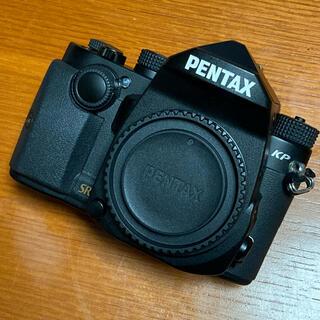 PENTAX - ペンタックス PENTAX KP ブラック ボディ 良品 バッテリーおまけ