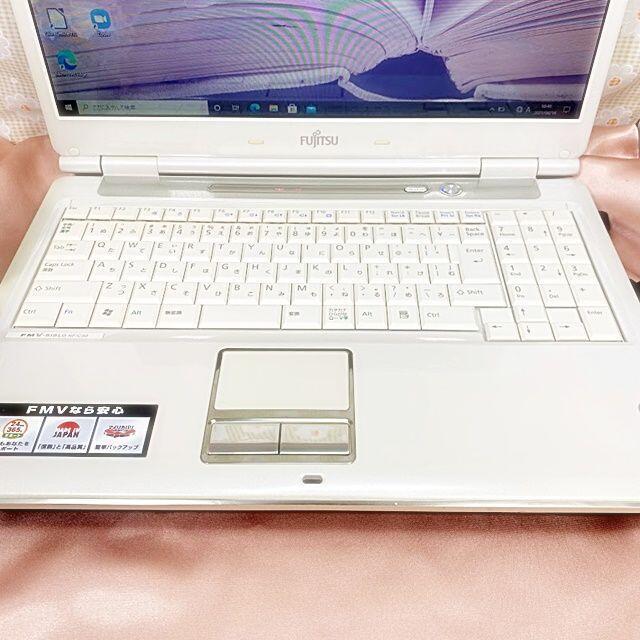 富士通(フジツウ)のコスパ抜群【大人気✾すぐ使える】富士通・Windows10・ノートパソコン スマホ/家電/カメラのPC/タブレット(ノートPC)の商品写真