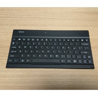 ソニー(SONY)のXperia Z2 Tablet専用カバー付きBluetoothキーボード(タブレット)