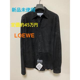 LOEWE - 新品未使用 ロエベ LOEWE シャツ やぎ革 最高級