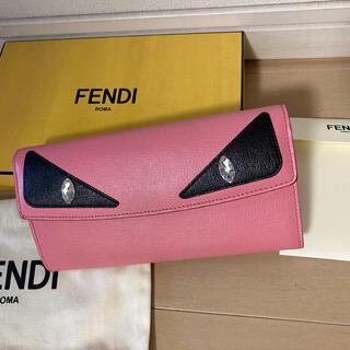 フェンディ(FENDI)のフィンディ財布 モンスター、ピンク(財布)