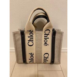 Chloe クロエ woody スモールトートバッグ