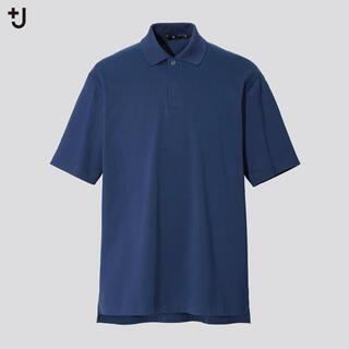 UNIQLO - ユニクロ +j ポロシャツ 66 ブルー