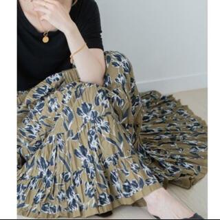 スピックアンドスパンノーブル(Spick and Span Noble)のマリハ MARIHA  草原の虹のスカート ノーブル(ロングスカート)