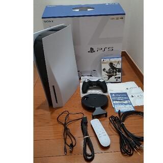 SONY - PS5 ディスクドライブ CFI-1000A01 ゴーストオブツシマ付