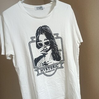 HYSTERIC GLAMOUR - HYSTERIC GLAMOUR SMOKING Girl プリントTシャツ M