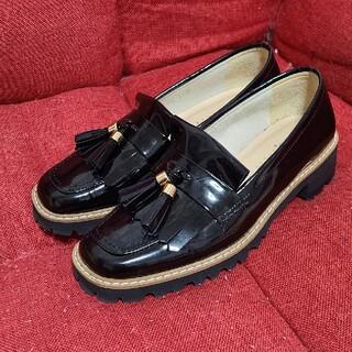 DIANA - DIANA ダイアナ ローファー 靴 ブラック 21.5cm かねまつ