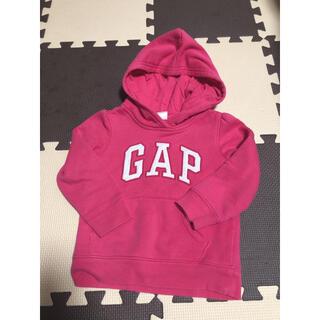 ギャップ(GAP)のGAP パーカー トレーナー ピンク(Tシャツ/カットソー)
