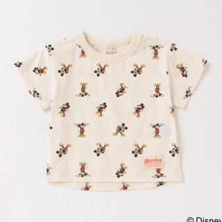 petit main - ミッキーマウスTシャツ