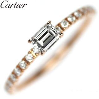 Cartier - カルティエ K18PG ダイヤモンド リング エタンセル 45号