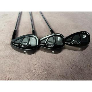クリーブランドゴルフ(Cleveland Golf)のクリーブランド ウェッジ 3本セット(クラブ)