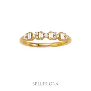agete - BELLESIORA♡ラウンド&バケットカット♡ダイヤモンドリング♡ベルシオラ