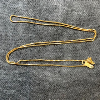 K18 ベネチアンチェーン ネックレス(45cm 幅0.7mm)