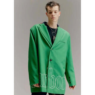 JOHN LAWRENCE SULLIVAN - yoikadakada オーバーサイズ テーラードジャケット グリーン 緑