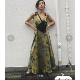 Ameri VINTAGE - AMERI VINTAGE  ベリージャガードドレス