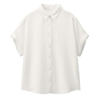 GU - GU エアリーシャツ 白 Mサイズ