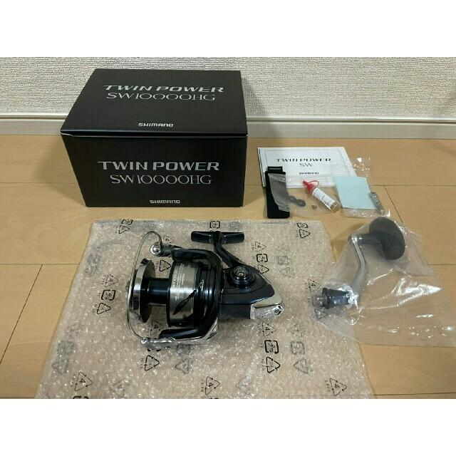SHIMANO(シマノ)の本日価格 新品 シマノ 21ツインパワー SW 10000HG  スポーツ/アウトドアのフィッシング(リール)の商品写真
