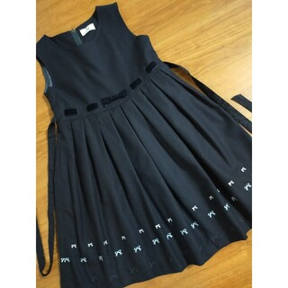 familiar - 美品  アートレター フォーマル ジャンパースカート 受験 面接 卒園 入学式