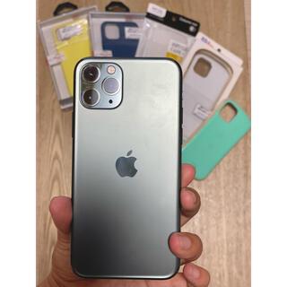 iPhone - iPhone 11 Pro 256GB SIMフリー ミッドナイトグリーン