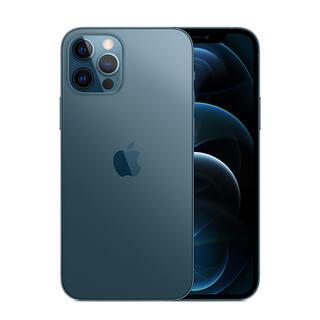 Apple - SIMフリーiPhone12Pro(256GB)パシフィックブルーiFace付き