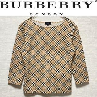 バーバリー(BURBERRY)のBURBERRY LONDON カットソー バーバリー ノバチェック ロンT(カットソー(長袖/七分))