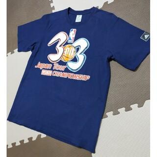☆ATS-824 アディダス NBA 3on3 半袖 Tシャツ ネイビー L