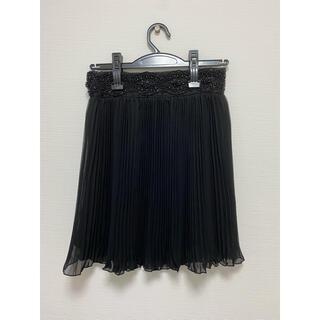 マーキュリーデュオ(MERCURYDUO)のMERCURYDUO   レーススカート ブラック(ミニスカート)