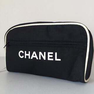 CHANEL - 新品 CHANEL 90年代 ヴィンテージ ノベルティ 非売品 ポーチ 黒