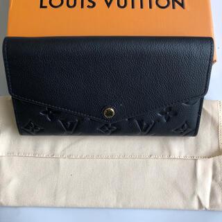 LOUIS VUITTON - ルイヴィトンM61182 モングラムアンプラントポルトフォイユサラ長財布 黒