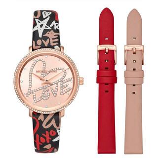 Michael Kors - マイケルコース 腕時計 パイパーミニ ピンクゴールドカラー