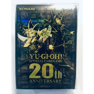 コナミ(KONAMI)の遊戯王 20th ANNIVERSARY 特製スリーブ       10個(カードサプライ/アクセサリ)