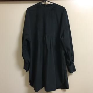 アングリッド(Ungrid)の☆ungrid☆ハイネックバックオープンドレスシャツ(シャツ/ブラウス(長袖/七分))