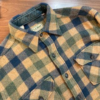 L.L.Bean - USA製 エルエルビーン チェックシャツ ネルシャツ CPOジャケット