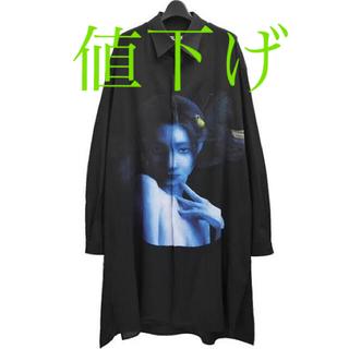 Yohji Yamamoto - 【早い者勝ち】ヨウジヤマモト 運命の輪 ボタンシャツ