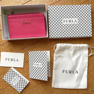 Furla - フルラカードケースピンクミニ財布