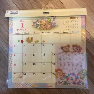 ダッフィー(ダッフィー)の2022 ダッフィー&フレンズ 壁掛けカレンダー(カレンダー/スケジュール)