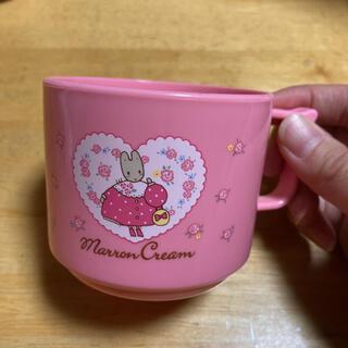 サンリオ(サンリオ)のマロンクリーム 1997年製 手付コップ レトロ(グラス/カップ)