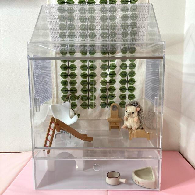 小動物 ハリネズミ アクリル ケージ その他のペット用品(かご/ケージ)の商品写真