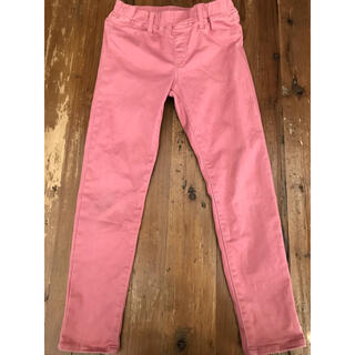UNIQLO - ユニクロ ストレッチパンツ 120   パンツ ズボン ピンク スキニーパンツ