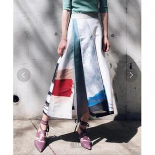 アメリヴィンテージ(Ameri VINTAGE)の一度のみ着用♡amerivintageスカート♡アメリヴィンテージ  バルマン(ロングスカート)