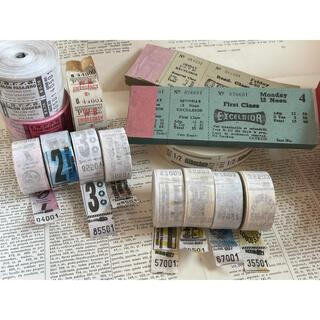 ヴィンテージチケットセット(印刷物)