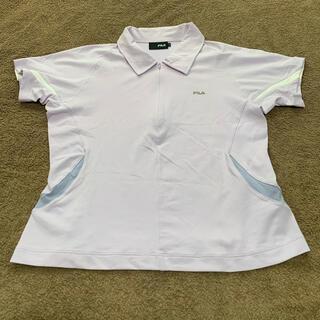 フィラ(FILA)の【お買得】 Lサイズ FILA   テニスウェア レディース ゲームシャツ(ウェア)