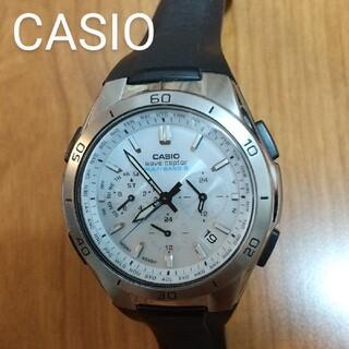 CASIO - 腕時計 CASIO ウェーブセプター wave ceptor 電波ソーラー