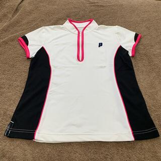 プリンス(Prince)の【お買得】 Lサイズ Prince  テニスウェア レディース ゲームシャツ(ウェア)