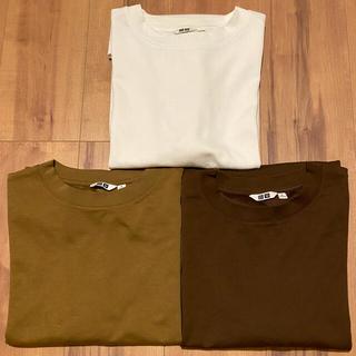 UNIQLO - UNIQLO U エアリズムコットン オーバーサイズTシャツ M  3枚セット