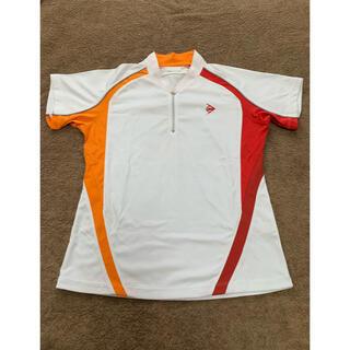 ダンロップ(DUNLOP)の【お買得】 Lサイズ DANLOP  テニスウェア レディース ゲームシャツ(ウェア)