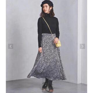 ユナイテッドアローズ(UNITED ARROWS)のユナイテッドアローズ レオパート柄スカート (ロングスカート)