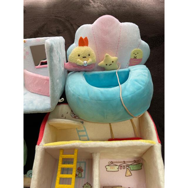 サンエックス(サンエックス)のすみっコぐらし 手乗りぬいぐるみセット  エンタメ/ホビーのおもちゃ/ぬいぐるみ(キャラクターグッズ)の商品写真